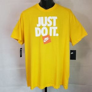 NIKE Just Do It Repeat Mens Embroidered Dri-Fit